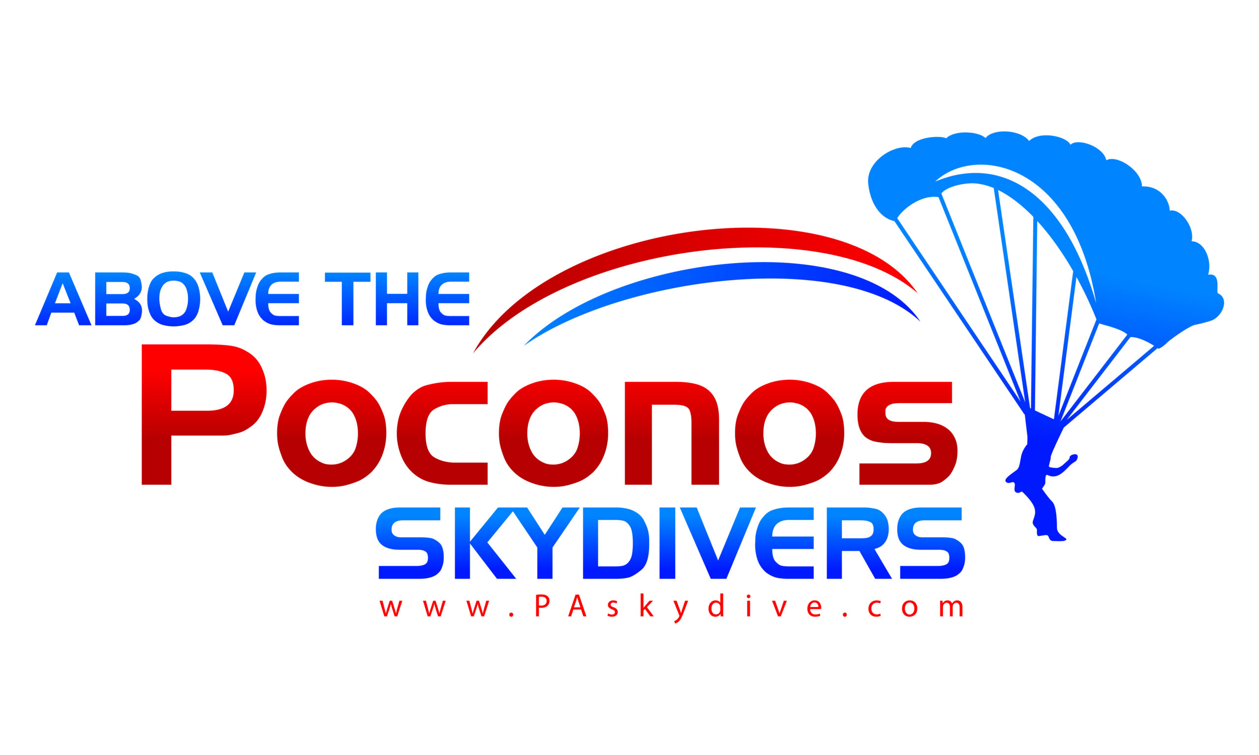 Above the Poconos Skydivers